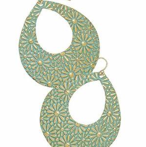 Premier Designs Full Bloom fishhook earrings